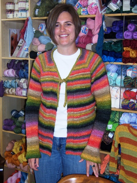 Betsy's Top Down Cardi