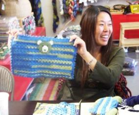 Crocheted Bear Blankie