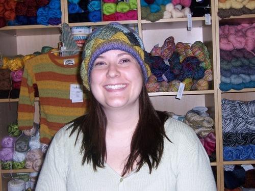 Sommer's Entrelac Hat