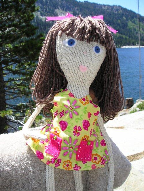 Melinda's Knitted Babe